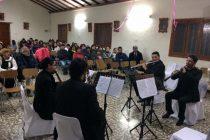 Ante un público atento se presentó el Concierto de Cámara en  la capilla de Calingasta