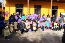 """Centenares de niños disfrutaron de """"Pichintún"""" en la sala municipal de microcine de Vicuña"""