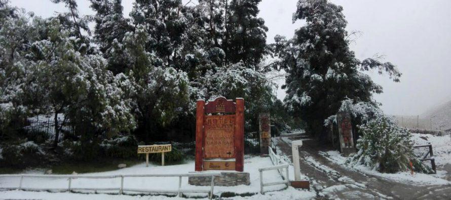 Nieve en el Valle del Elqui
