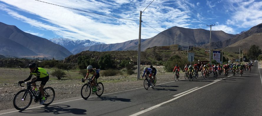 Con gran éxito se desarrolla la Vuelta Ciclista Valle del Elqui que unió La Serena con Vicuña