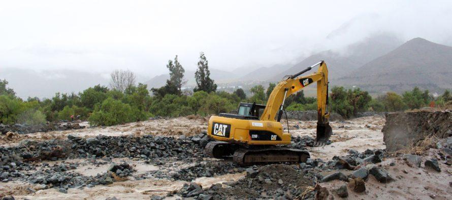 Fuertes lluvias marcaron el mes de mayo en la región de Coquimbo