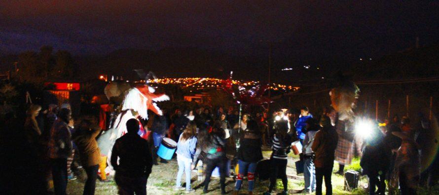 Con un carnaval terminan las actividades de vacaciones de invierno realizadas por los vecinos de Villaseca