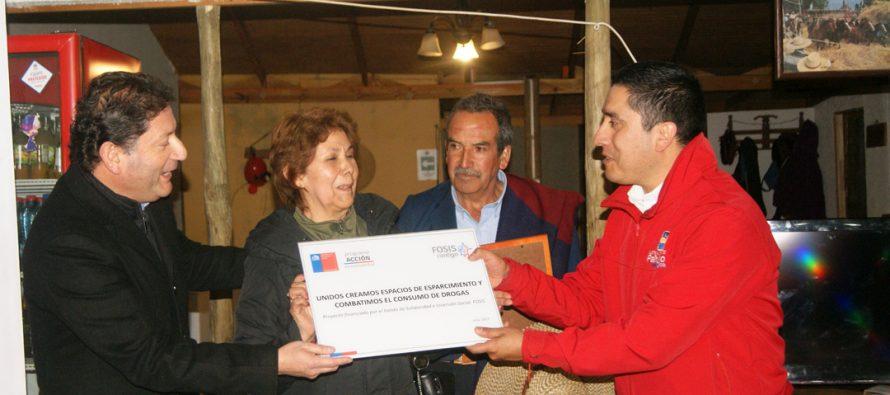 Con recursos del FOSIS hermosean sector de Montegabriela en la localidad de Montegrande