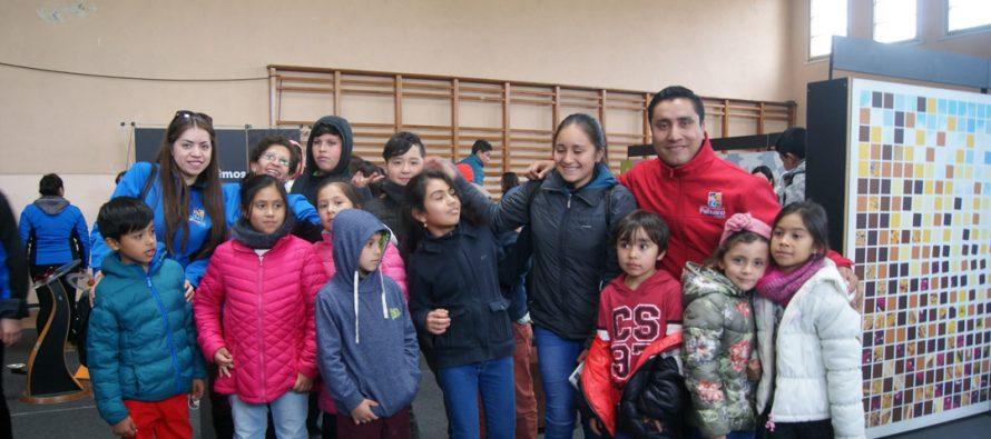 «Vacaciones por un día» vivieron niños y niñas de Paihuano