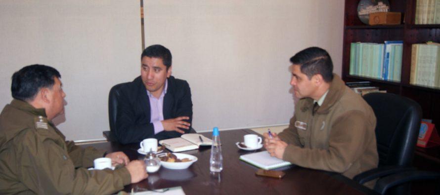 Analizan proyecto de mejoramiento de Tenencia de Carabineros de Paihuano