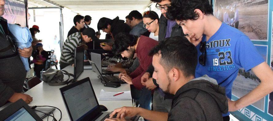 Vicuña fue parte de operativo informático gratuito realizado por estudiantes de informática de INACAP