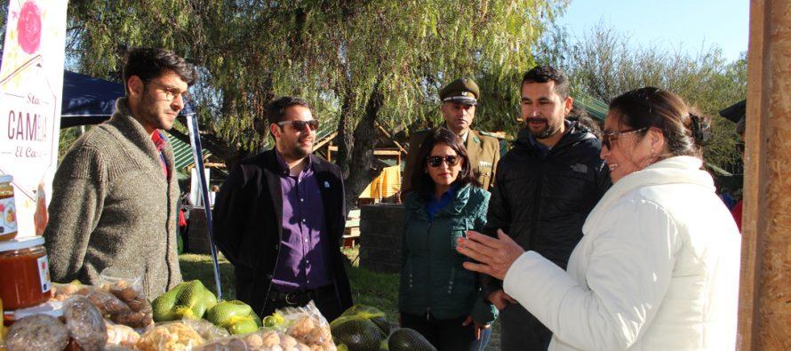 Con gran participación se desarrolló la 4ta Feria Rural Campesina este fin de semana