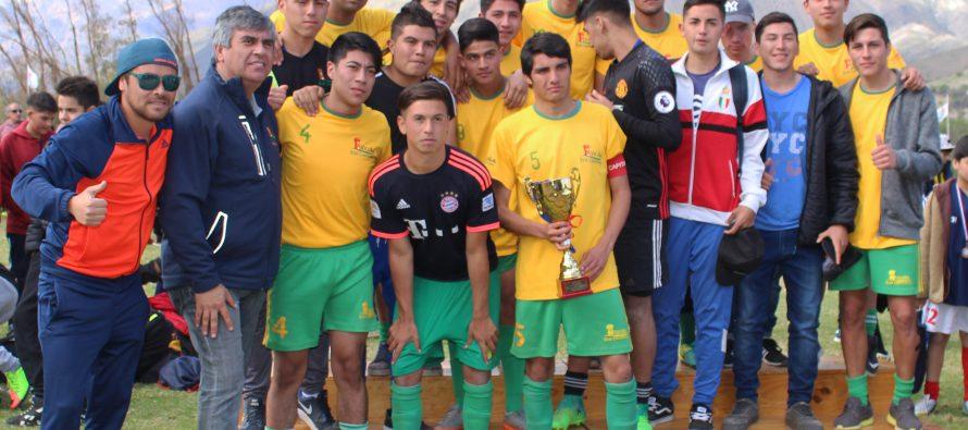 Más de 700 jóvenes disputaron la 5ta versión del campeonato Haciendo Amigos en Vicuña