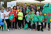 Estudiantes y vecinos de Vicuña participaron en Feria de Promoción de Vida Saludable organizada por Junaeb