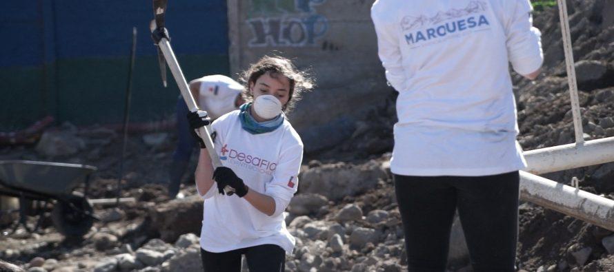 Desafío Levantemos Chile llega hasta Marquesa para contribuir con la comunidad