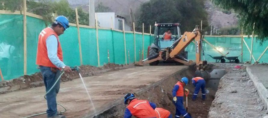Más de 600 metros de alcantarillado han sido renovados en el primer semestre en Vicuña