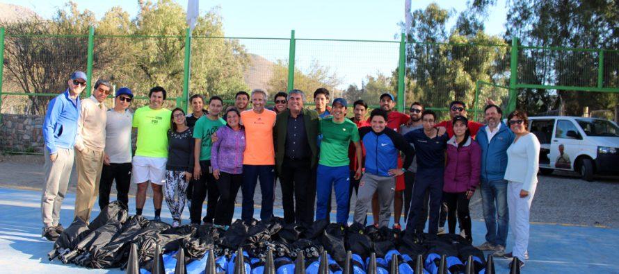 Horacio de la Peña impartió clínica deportiva a profesores de escuelas municipalizadas de Vicuña
