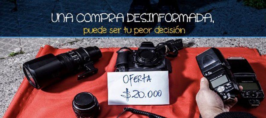 """PDI relanza campaña """"No compres robado"""" en la comuna de Vicuña"""
