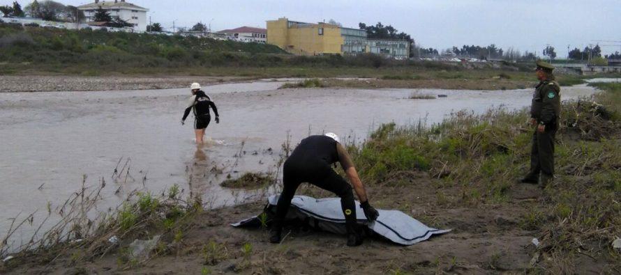 GOPE de Carabineros rescató cuerpo desde Río Elqui