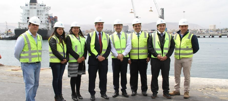 En Arica, abordan crecimiento del Puerto de Coquimbo y preparan el camino para el Túnel de Agua Negra