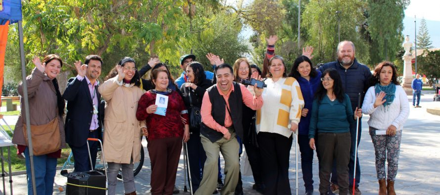 """Con éxito se desarrolló la experiencia social  """"Me Pongo en tu Lugar"""" en la comuna de Vicuña"""