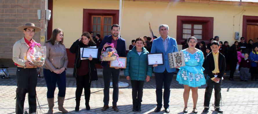 """Diaguitas """"Pueblo Típico"""" del Valle del Elqui celebró sus 145 años de vida"""