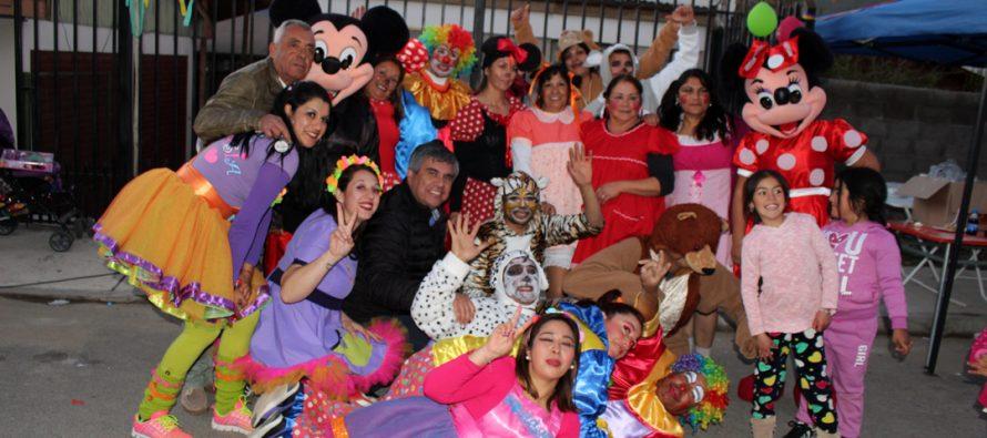 Localidades de Vicuña celebraron el Día del Niño con el Team Fantasía y otras sorpresas