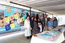 Centro de madres de Peralillo presentó sus trabajos en el municipio de Vicuña
