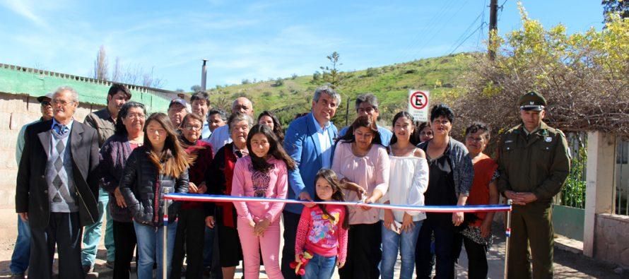 27 familias han sido beneficiadas con el pavimento de la población Huancara