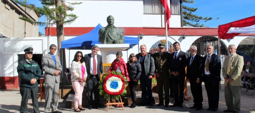 Desfile y actos conmemorativos recuerdan el natalicio de Bernardo O'Higgins en Vicuña