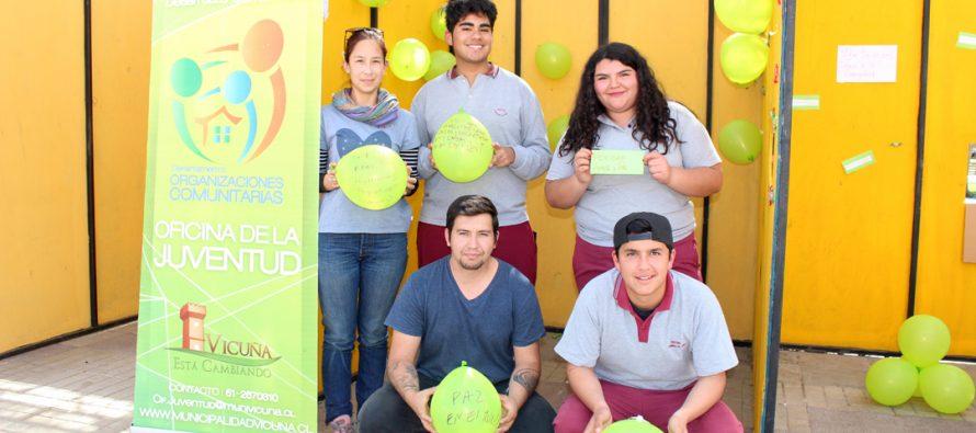 """Con """"buenos deseos"""" continúan las acciones sociales en la semana de la juventud"""