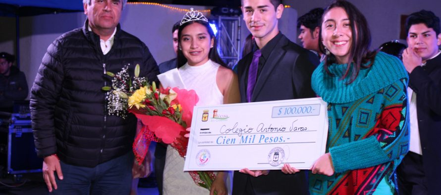 Colegio Antonio Varas logra su 3ra coronación como campeones de la fiesta de la juventud