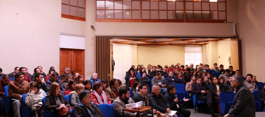 Realizan seminario para analizar la ley 20.922 que modifica las plantas municipales del país