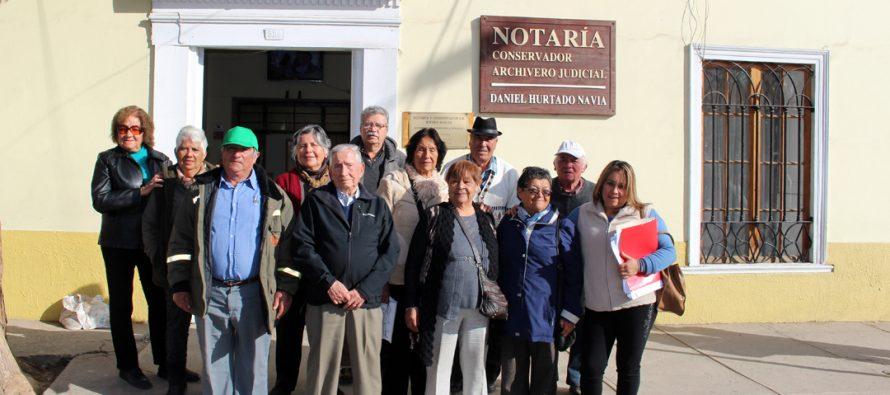 11 Agrupaciones de adultos mayores en Vicuña recibirán dinero para concretar sus proyectos