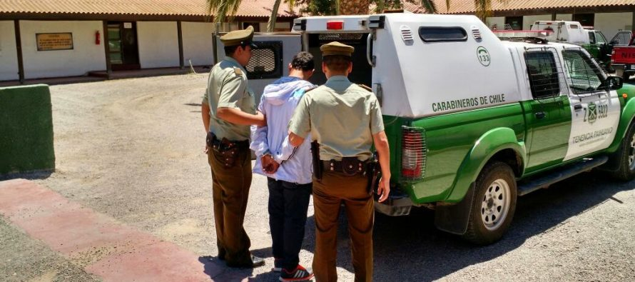 Persecución en el Valle de Elqui deja 7 detenidos por robo de vehículo realizado en La Serena