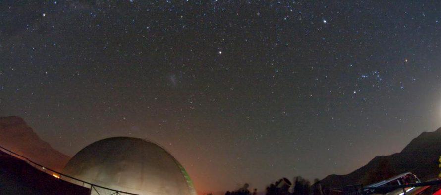"""Programa """"Mamalluca para Todos"""" acerca la astronomía a los estudiantes de Vicuña"""