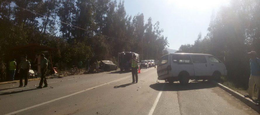 Dos conductores fueron detenidos por conducción en estado de ebriedad en Vicuña; uno de ellos fue partícipe de un accidente