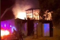 Siniestro consume una casa en el sector nororiente de la ciudad de Vicuña