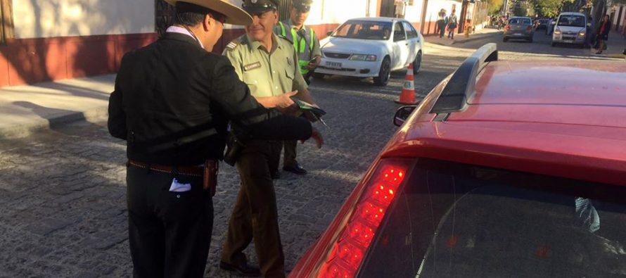 Controles policiales han arrojado un detenido por conducción en ebriedad