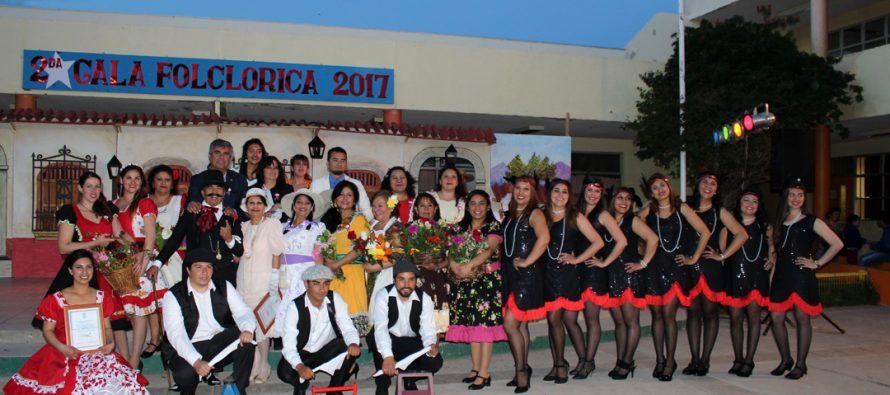 Comunidad educativa del Colegio Joaquín Vicuña vivió su exitosa 2da gala folclórica