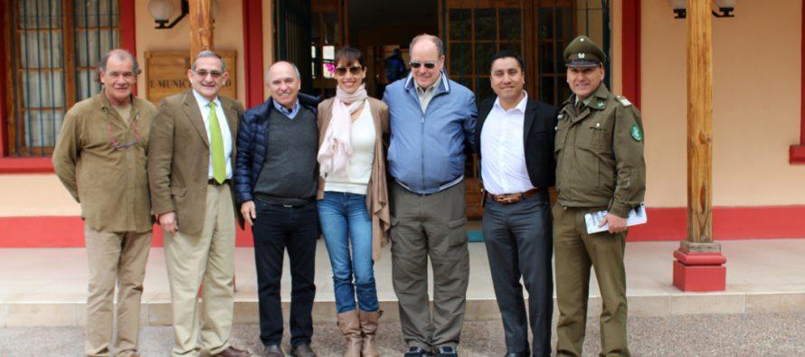 Príncipe de Mónaco Alberto II visitó la comuna de Paihuano