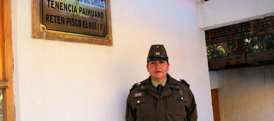 Carabineros de Pisco Elqui estará a cargo por primera vez de una Suboficial