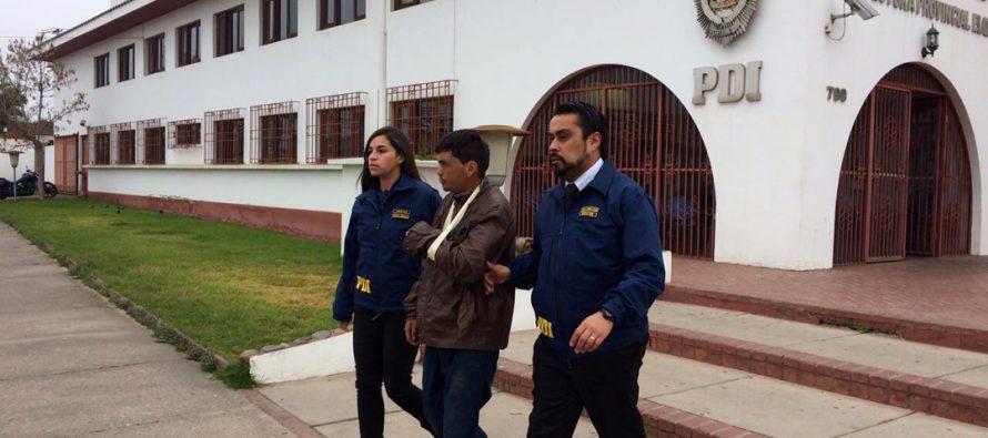 PDI detiene a presunto abusador sexual  de adulta mayor de 68 años de edad en Las Rojas