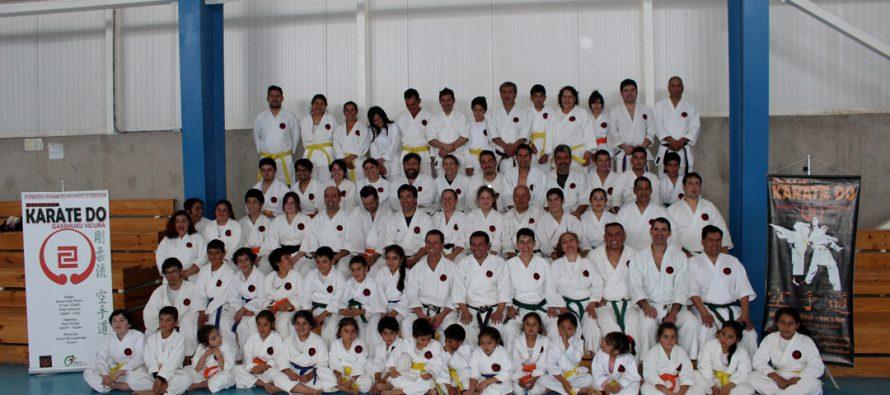 Vicuña vivió su 4to Gasshuku Nacional de Karate