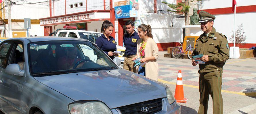 Vicuña lanza campañas de seguridad para afrontar las Fiestas Patrias