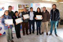 Agricultores de la comuna de Vicuña se capacitan en manejo de frutales