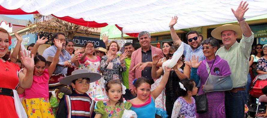 Amigos de la Cueca de Vicuña celebró su noveno aniversario con emotiva gala folclórica
