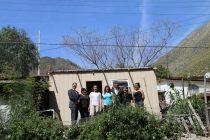 Familias de Andacollito y Diaguitas recibieron viviendas de emergencia