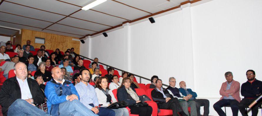 En Vicuña se vivió el segundo conversatorio del proyecto Túnel de Agua Negra