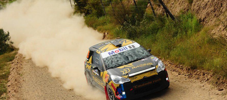 RallyMobil: José Miguel Hernández clasifica entre  los 8 mejores en el gp de Vicuña