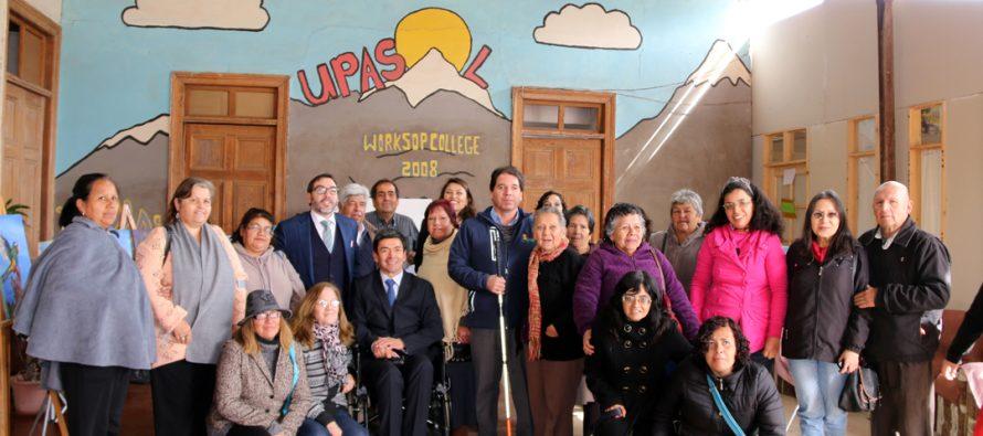 Presentan iniciativas de apoyo a las personas en situación de discapacidad en UPASOL
