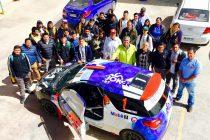 Equipo RallyMobil visitó a estudiantes de mecánica automotriz del liceo Carlos Mondaca