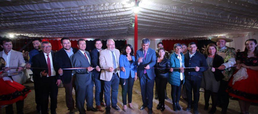 Autoridades y dirigentes inauguran los 5 días de fiesta en la Pampilla de San Isidro