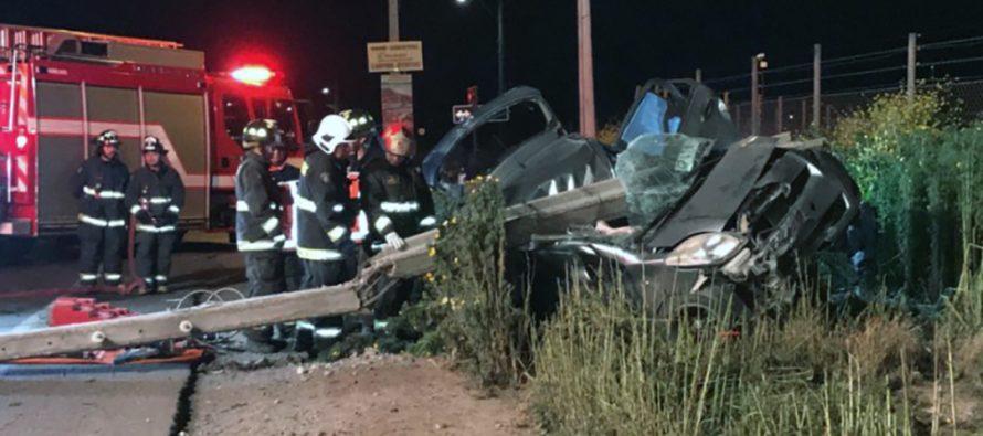 Joven fallecido en accidente era de la elquina localidad La Calera