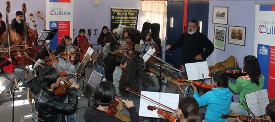 Encuentro Macrozonal de Orquestas Sinfónicas Juveniles se iniciará con concierto en Paihuano